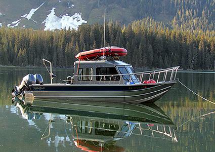 Aluminum offshore boat kit