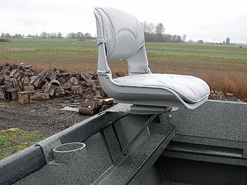Removable Outboard Operator Seat