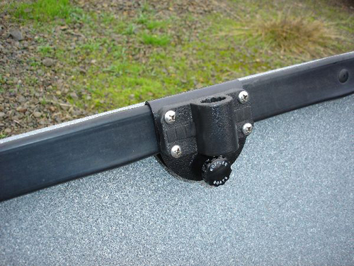 Rod Holder Bracket with Fish-On Base