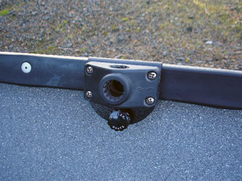 Rod Holder Bracket with Scotty Base