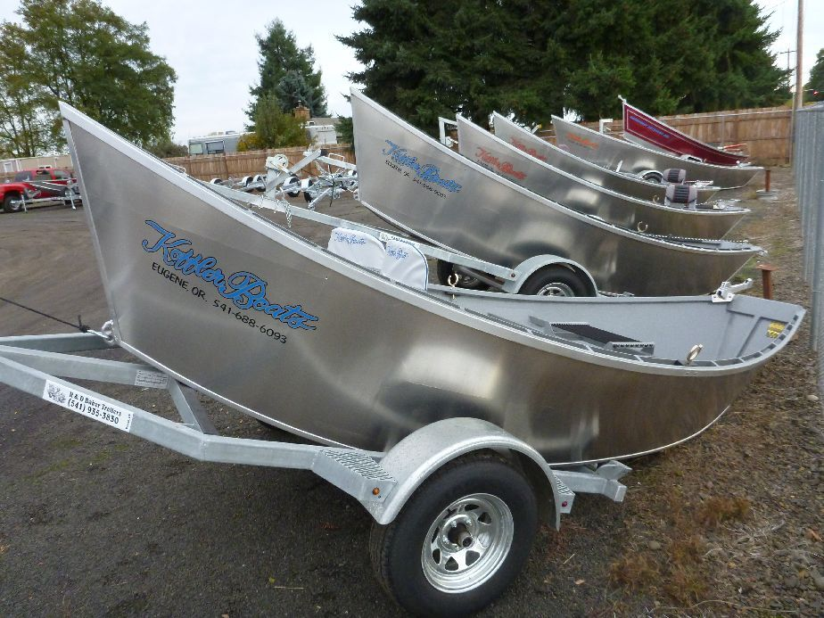 BKA00042E212 16 High Side Koffler Drift Boat