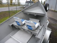 Koffler Drift Boat with Magnum Storage Seat