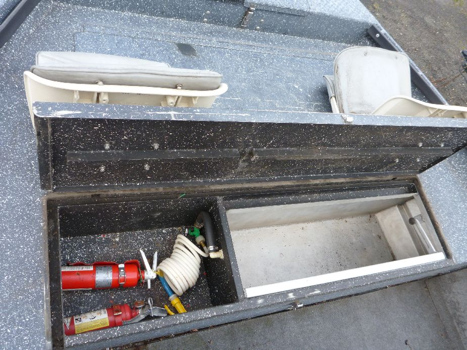 Aluminum fishing boats koffler boats 541 688 6093 eugene or for Fish box for boat