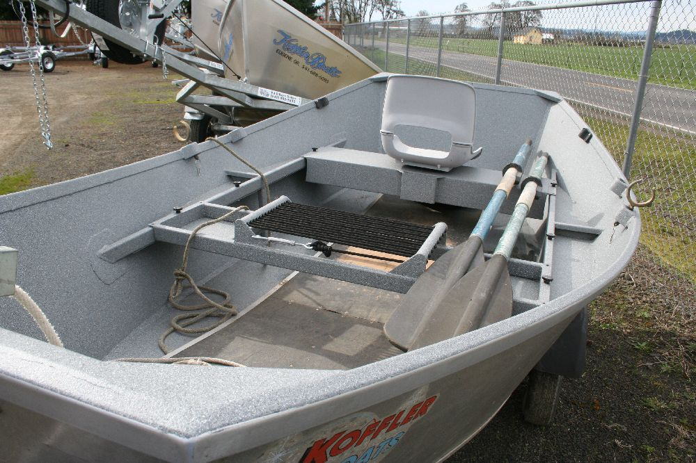 Used 12 aluminum fishing boat for sale koffler boats for Used fishing kayaks for sale