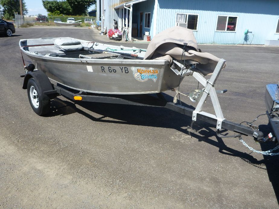 Small used aluminum boat for sale koffler boats for Small used fishing boats for sale